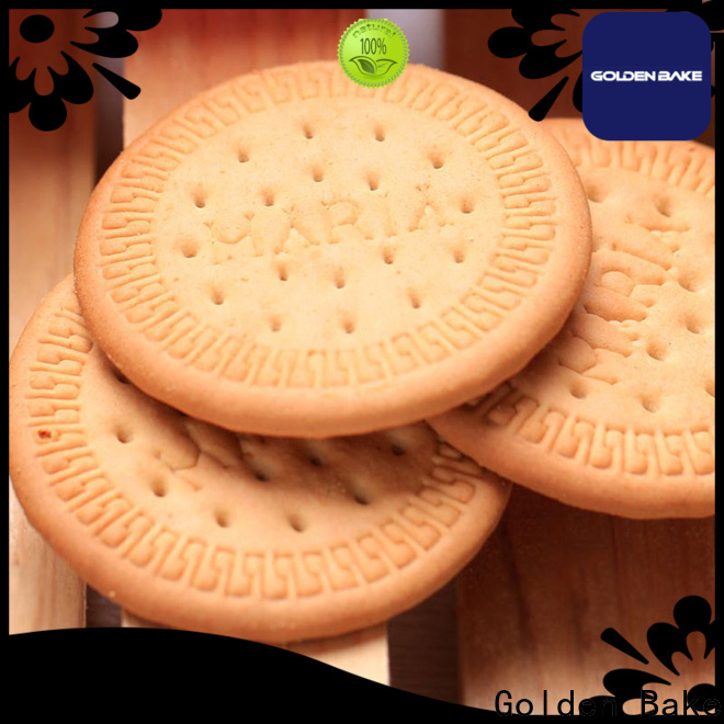 Golden Bake durable cookies making machine price in india factory for marie biscuit production