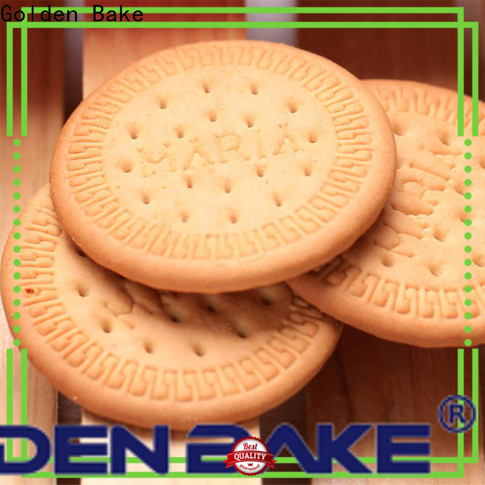 Golden Bake biscuit packaging machinery manufacturers factory for marie biscuit production