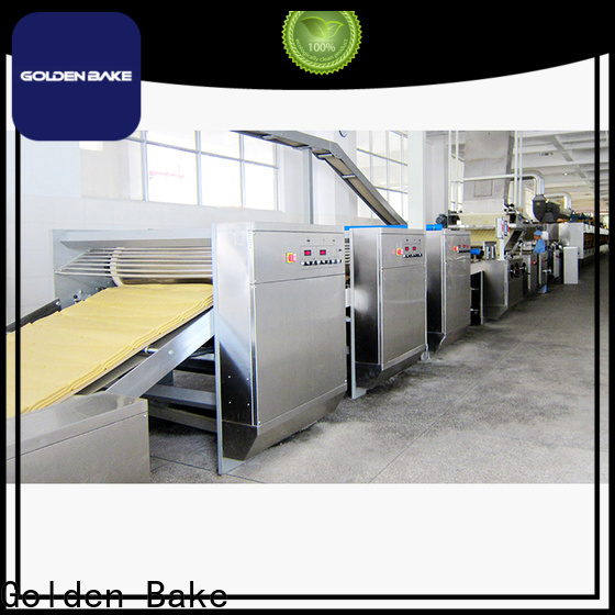 Golden Bake top quality automatic dough sheeters factory for biscuit material forming