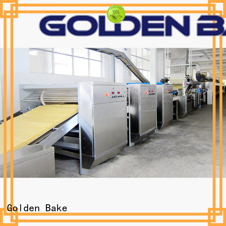 Golden Bake top quality dough forming machine solution for biscuit material forming