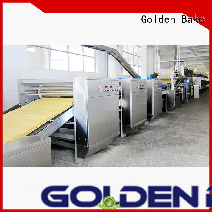 Golden Bake biscuit making machine suppliers manufacturer for biscuit material forming