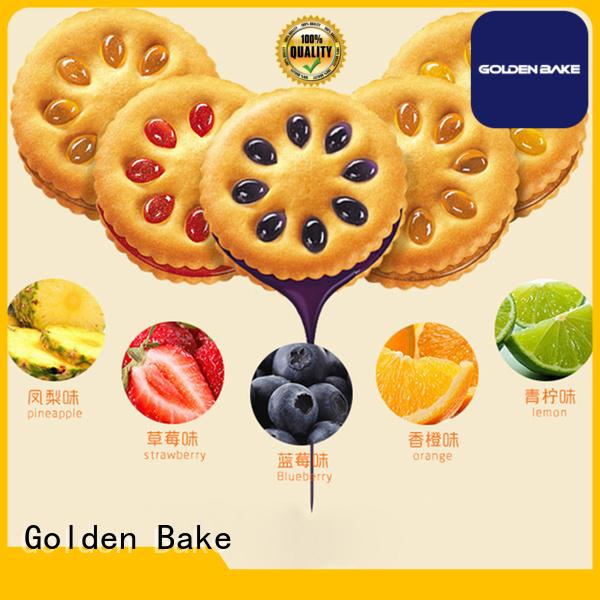 Golden Bake best cream biscuit sandwiching machine supplier for sanwich biscuit production