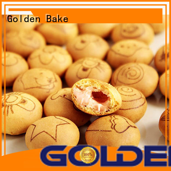 Golden Bake top biscuit manufacturing machine manufacturer for center filled biscuit production