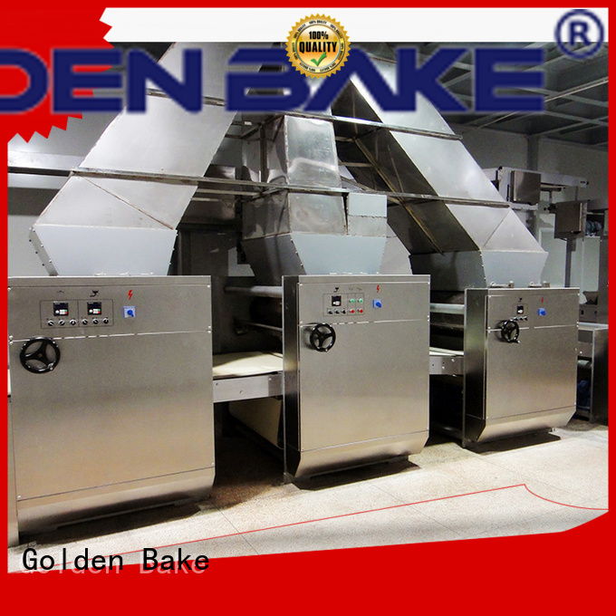 Golden Bake dough sheeter factory for biscuit material forming