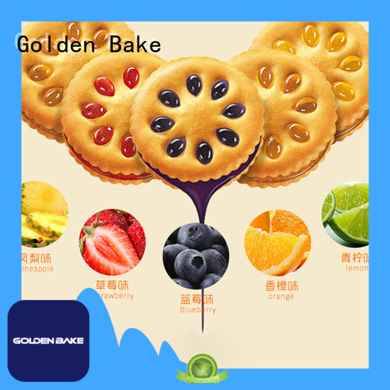 Golden Bake cream biscuit sandwiching machine solution for sanwich biscuit making