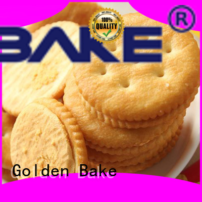 Golden Bake best biscuit machinery supplier for ritz biscuit making