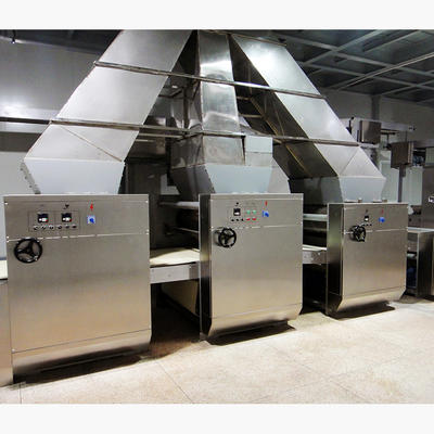Three color dough sheeter---to make three color biscuit