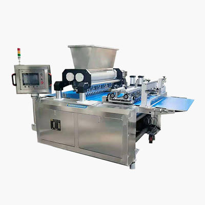 Multifunctional automatic cookies machine to make wire cut / extruded cookies