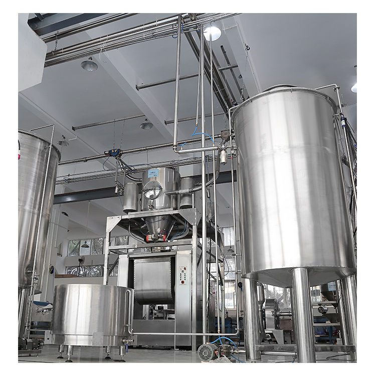 Silo system for biscuit production line automatic dosing system