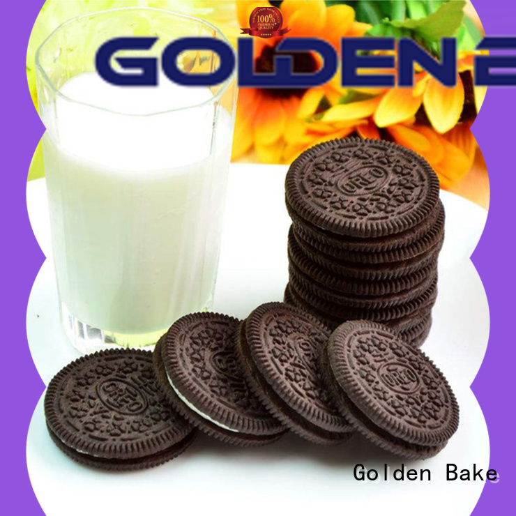 Golden Bake excellent cookie making machine manufacturers solution for oreo biscuit making