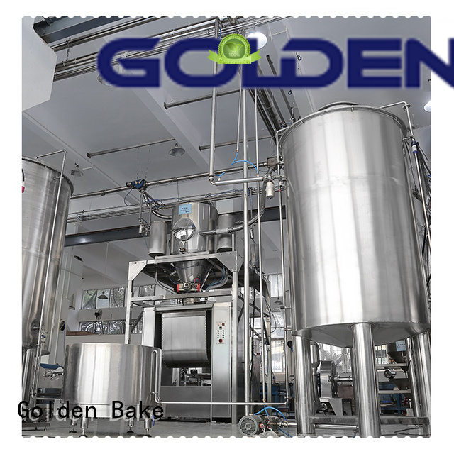 Golden Bake excellent automatic dosing system manufacturer for food biscuit production