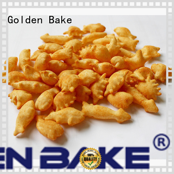 Golden Bake top quality biscuit plant solution for puffed food making