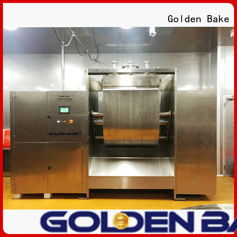 Golden Bake dough kneading machine solution for sponge and dough process