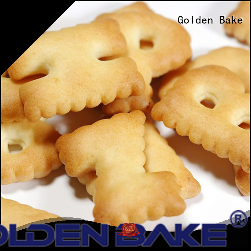 Golden Bake biscuit manufacturing equipment supplier for letter biscuit production