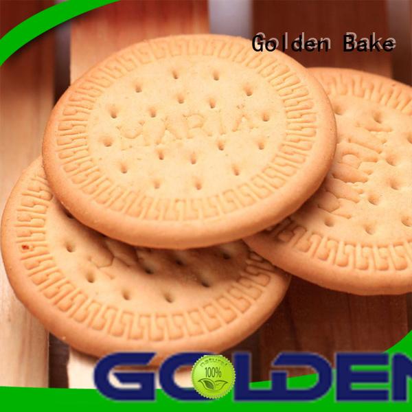 Golden Bake best cookie factory machine supplier for marie biscuit making