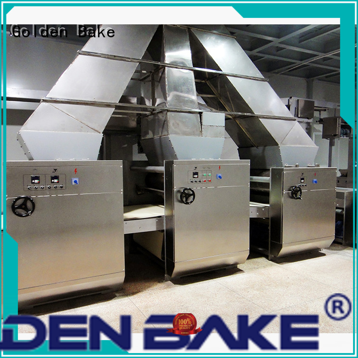 Golden Bake cookie making machine manufacturer for forming the dough