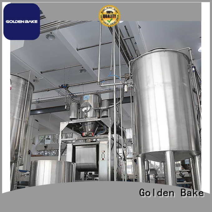 Golden Bake automatic dosing system company for biscuit material dosing