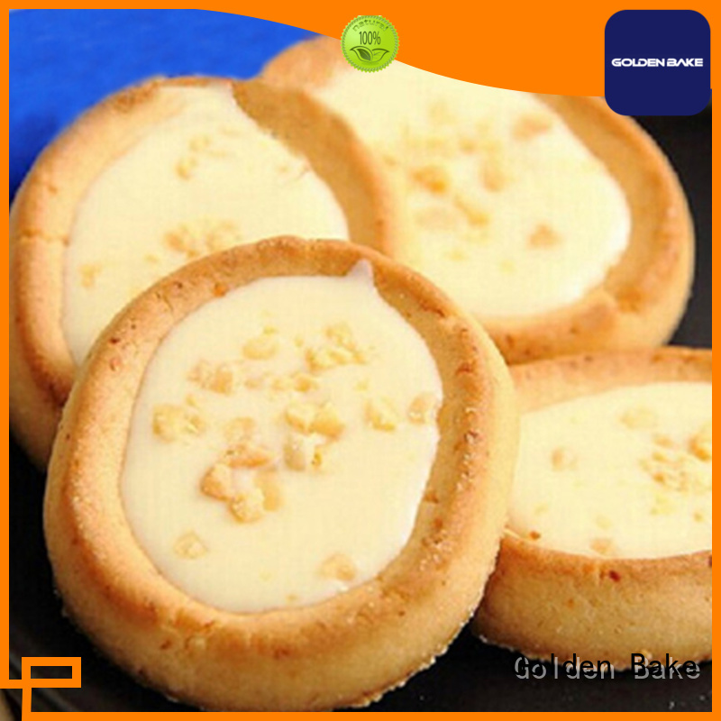 Golden Bake excellent biscuit production machine solution for egg tart biscuit production