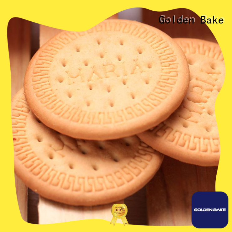 Golden Bake biscuit making machine manufacturer company for marie biscuit making