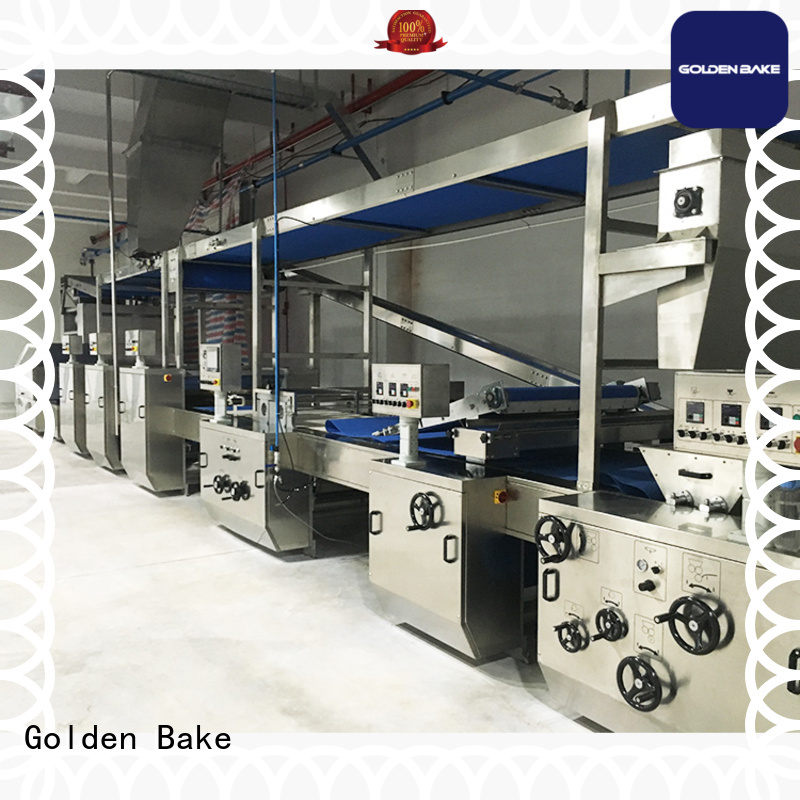 Golden Bake best biscuit manufacturing machine supplier for biscuit material forming