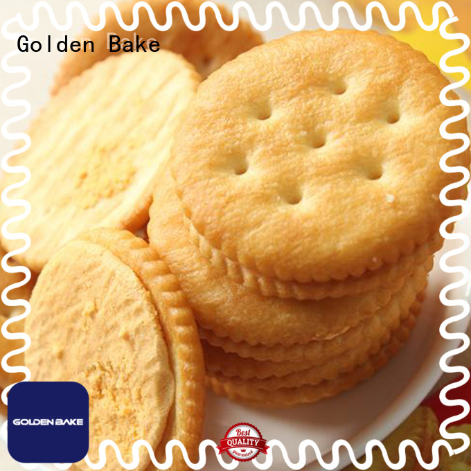 Golden Bake top biscuit machinery solution for ritz biscuit production