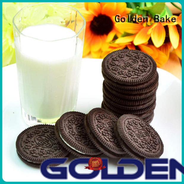 Golden Bake excellent machine biscuit supplier for chocolate-flavored sandwich biscuit making