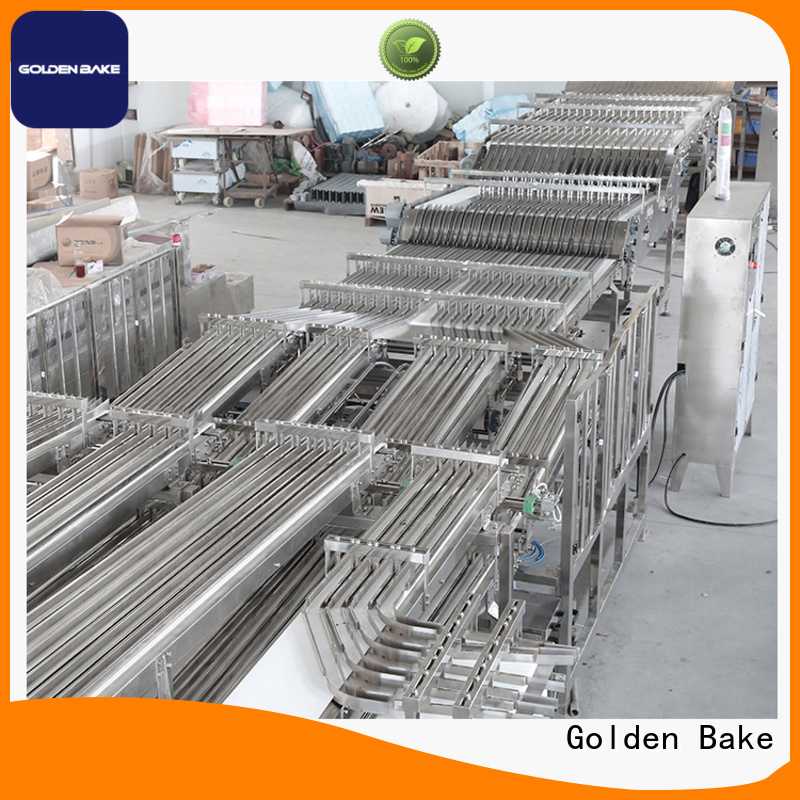 Golden Bake automation system supplier for biscuit post baking