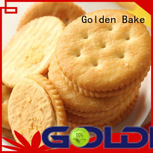 Golden Bake excellent bakery biscuit machine manufacturer for ritz biscuit production