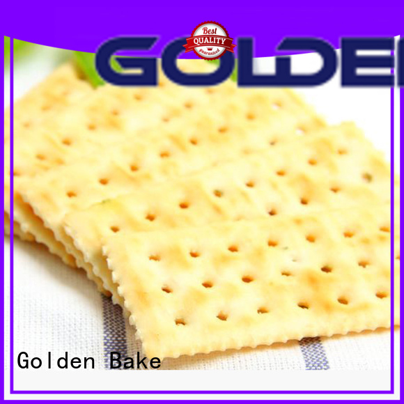 Golden Bake biscuit maker factory for soda biscuit making
