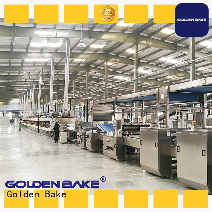 Golden Bake excellent cookie machine factory for forming the dough