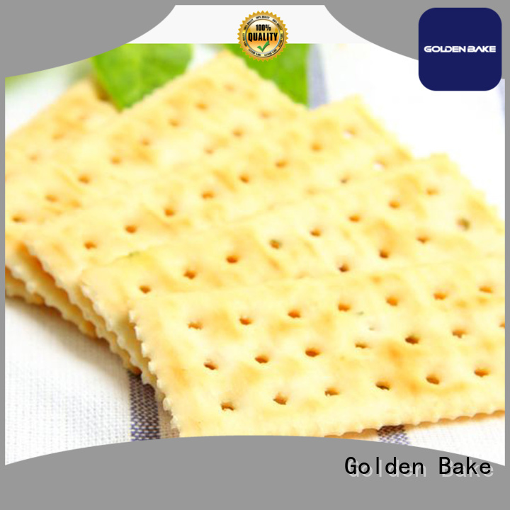 Golden Bake professional biscuit production equipment supplier for soda biscuit production
