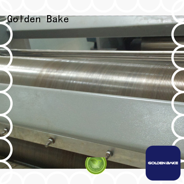 Golden Bake dough sheeter machine company for forming the dough