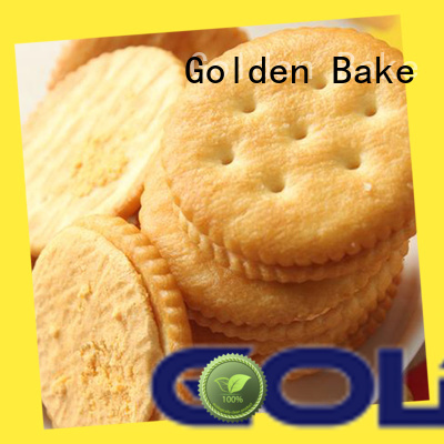 Golden Bake industrial biscuit making machine supplier for ritz biscuit production