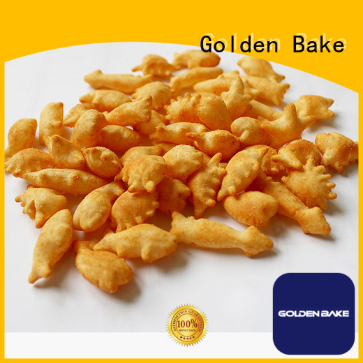 Golden Bake excellent biscuit plant supplier for puffed food making