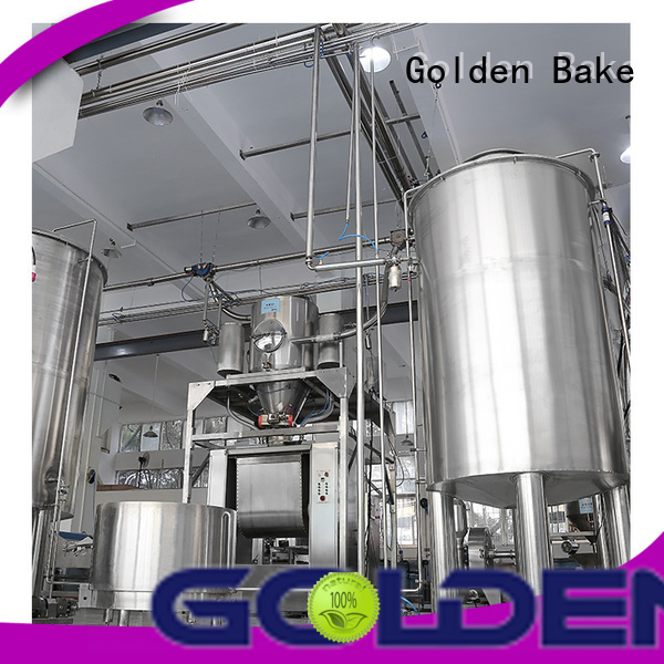 Golden Bake excellent dosing equipment company for food biscuit production