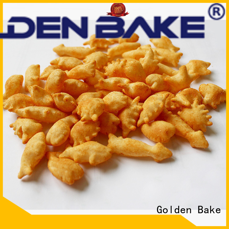 Golden Bake bakery cookie machine factory for gold fish biscuit production