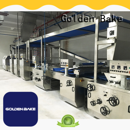 Golden Bake dough cutting machine factory for forming the dough