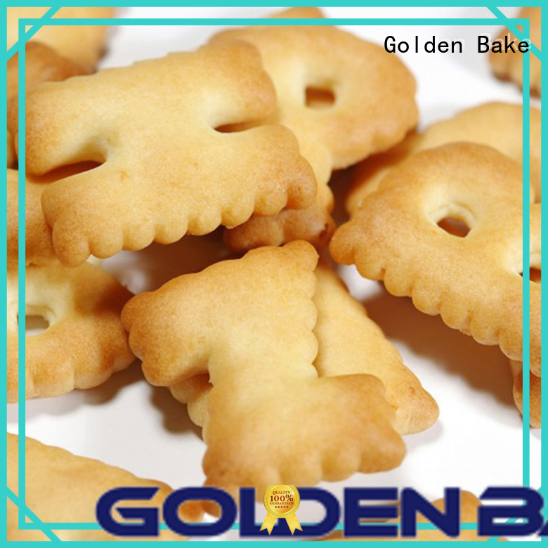 Golden Bake biscuit manufacturing equipment factory for letter biscuit making