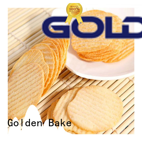 Golden Bake biscuit production line manufacturer for biscuit making