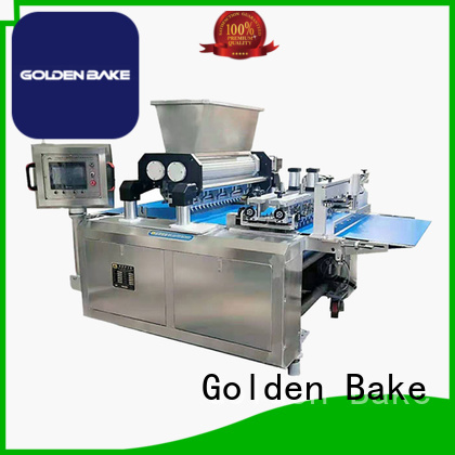 Golden Bake durable dough sheeter machine factory for biscuit material forming