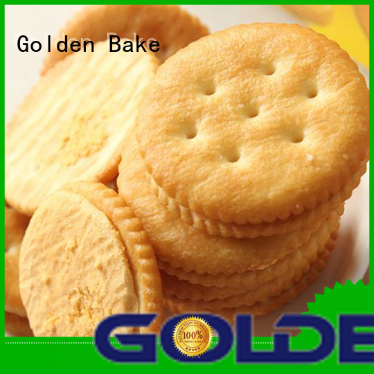 Golden Bake bakery biscuit machine company for ritz biscuit production