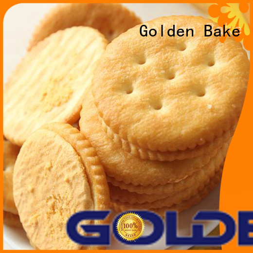 Golden Bake durable biscuit machinery factory for ritz biscuit making