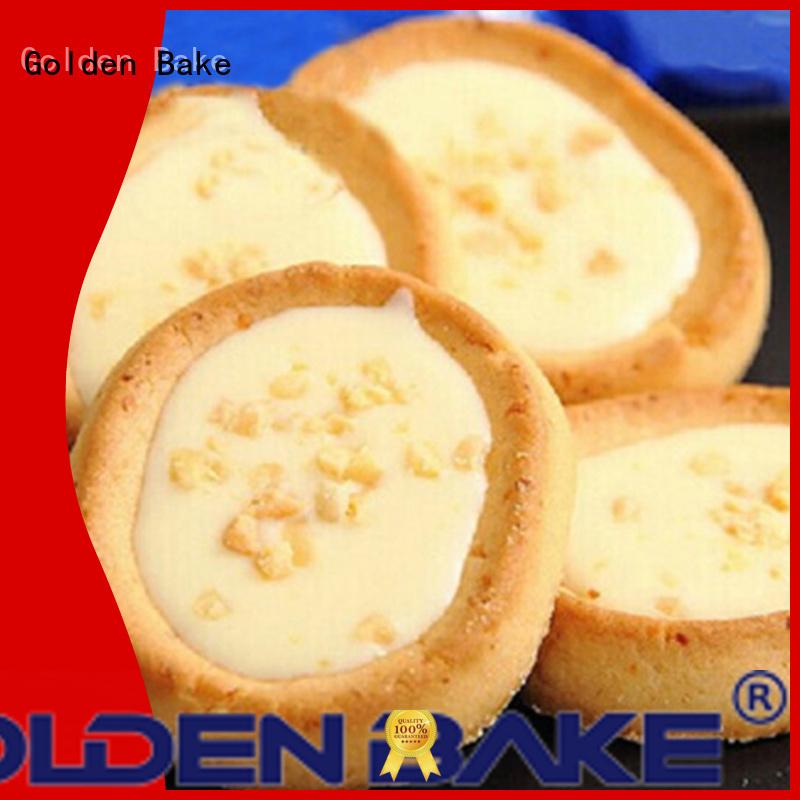 Golden Bake biscuit production machine solution for egg tart biscuit making