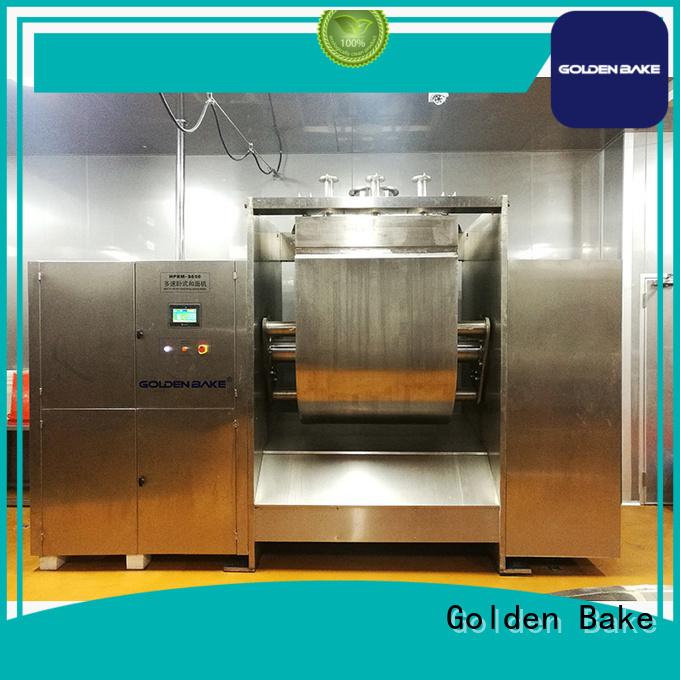 Golden Bake dough mixer factory for sponge and dough process