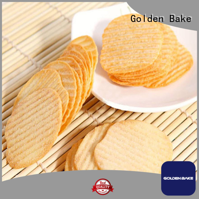 Golden Bake best automatic biscuit making plant supplier for w-shape potato biscuit making