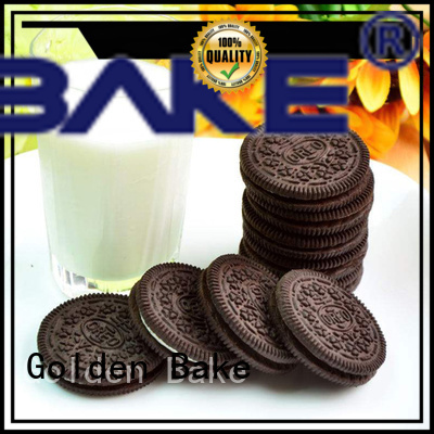 Golden Bake cookie making machine manufacturers company for chocolate-flavored sandwich biscuit making