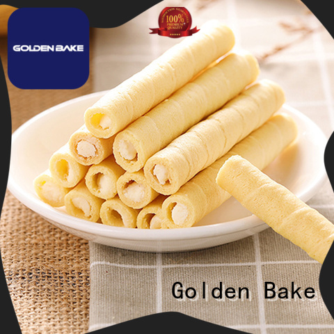 Golden Bake wafer stick making machine solution for egg roll production