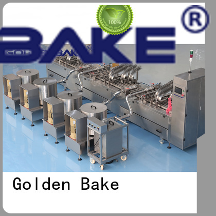 Golden Bake excellent biscuit sandwich machine company for biscuit production