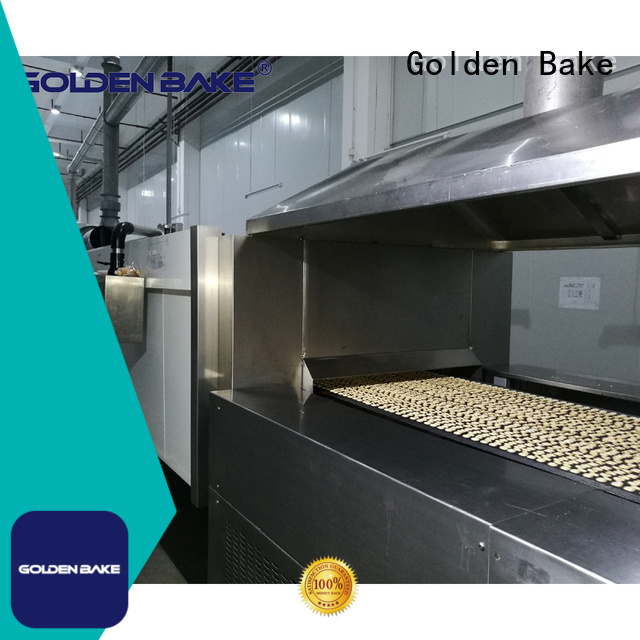 Golden Bake industrial biscuit oven solution for biscuit baking