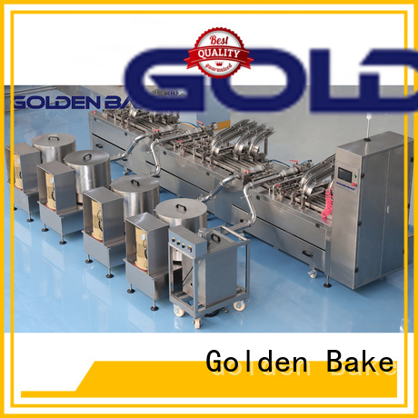 Golden Bake professional biscuit factory machine factory for biscuit cream filling